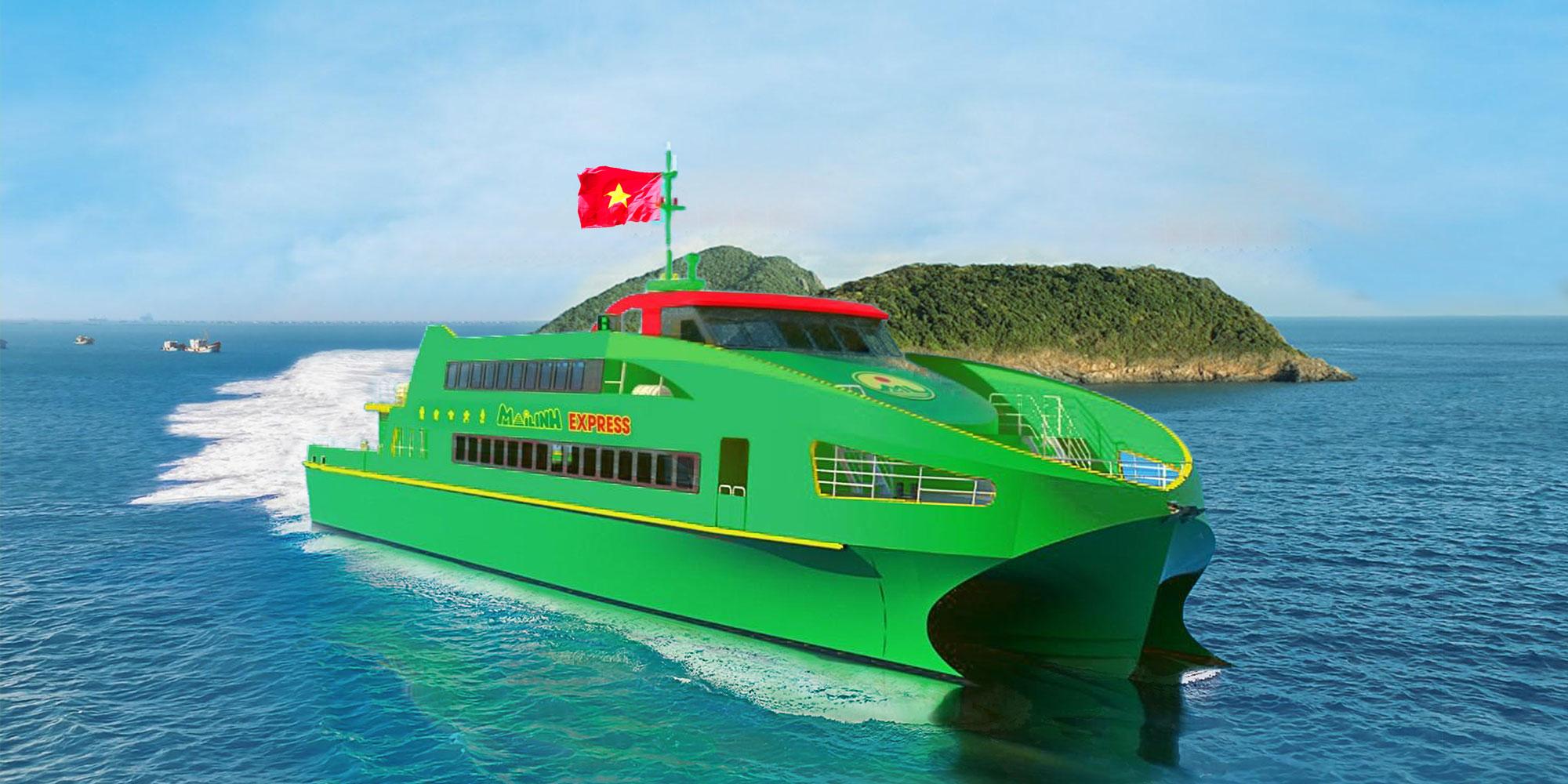 Tàu cao tốc Mai Linh Express